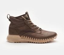 HerrenSchnürstiefel 'Garment dyed Leather Exostrike Boot with Dyneema' graubraun