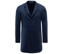 Cashmere Mantel 'Short Coat' navy