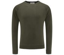 R-Neck Pullover dark olive