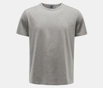 HerrenRundhals-T-Shirt grau