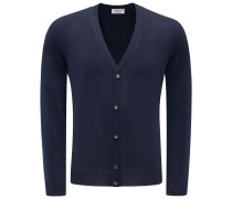 Cashmere Cardigan dark navy