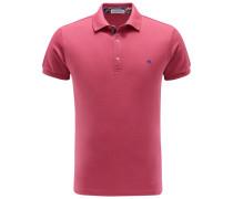 Jersey-Poloshirt magenta