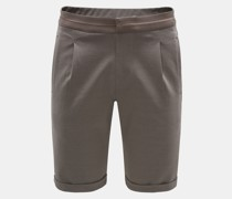 HerrenJersey-Shorts 'Carl' graubraun