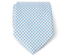 Krawatte türkis gemustert