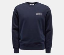 Rundhals-Sweatshirt 'Hugh' navy