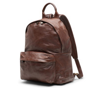 Officine Creative - Rucksack 'Trapper' dunkelbraun