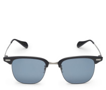 Sonnenbrille 'Executive I' schwarz/dunkelblau