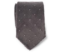 Krawatte graubraun gemustert