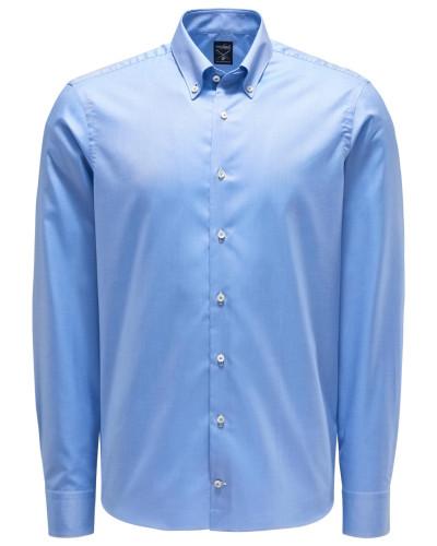 Oxfordhemd 'Malin' Button-Down-Kragen hellblau