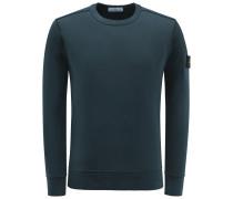 R-Neck Sweatshirt dunkelgrün