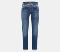 Jeans 'Slim' rauchblau