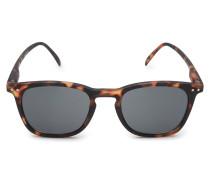 Sonnenbrille '#E Sun' dunkelbraun/grau