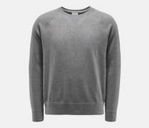 Rundhals-Sweatshirt dunkelgrau
