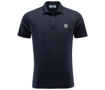 Jersey-Poloshirt dark navy