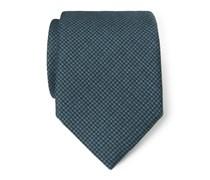 Ermenegildo Zegna - Krawatte dunkelgrün gemustert