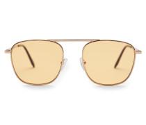 Sonnenbrille gold/gelb