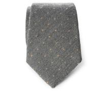 Krawatte dunkelgrau gemustert