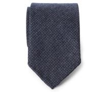 Krawatte graublau gemustert