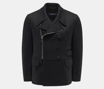 HerrenJersey-Jacke schwarz
