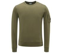 R-Neck Sweatshirt oliv
