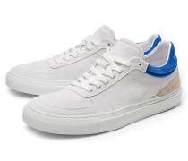 Sneaker hellgrau/blau