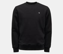 Rundhals-Sweatshirt 'Tye' schwarz