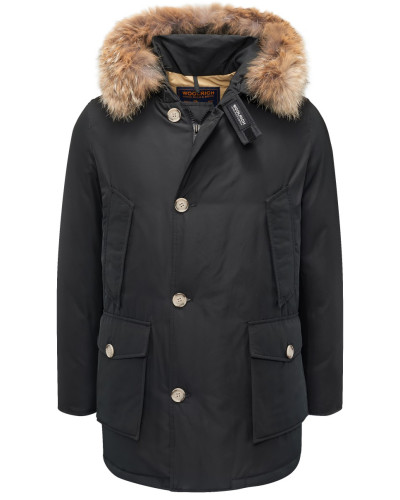 woolrich herren woolrich daunenparka 39 arctic parka df 39 schwarz reduziert. Black Bedroom Furniture Sets. Home Design Ideas
