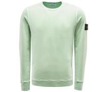 R-Neck Sweatshirt hellgrün
