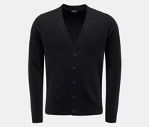 Cashmere Cardigan schwarz