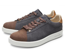 Sneaker 'Game H' grau/braun