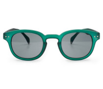 Sonnenbrille '#C Sun' dunkelgrün/grau