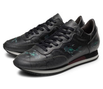 Sneaker 'Etoile' anthrazit gemustert