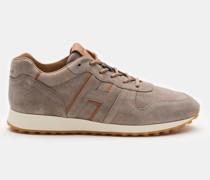 Sneaker 'H383' graubraun/hellbraun