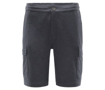 Cargo-Shorts dunkelgrau