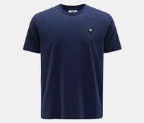 Rundhals-T-Shirt 'Ace' navy