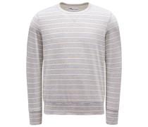 Nicki Sweatshirt mit Rundhals 'Aamerican' hellgrau/beige