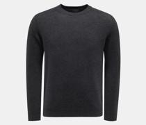 HerrenRundhals-Pullover anthrazit