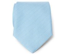 Krawatte türkis gestreift