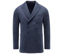 Jersey-Sakko 'Ziggy' blau