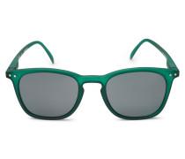 Sonnenbrille '#E Sun' dunkelgrün/grau