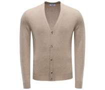 Cashmere Cardigan khaki