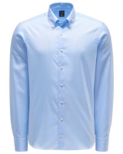 Oxfordhemd 'Malin' Button-Down-Kragen pastellblau