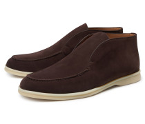 Loafer 'Open Walk' dunkelbraun