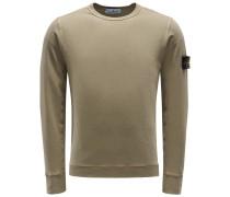 R-Neck Sweatshirt khaki