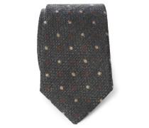 Krawatte anthrazit gemustert