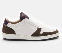 HerrenSneaker 'ZSP23' weiß/oliv