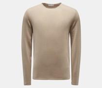 HerrenRundhals-Pullover 'Myles' beige