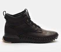 HerrenSchnürstiefel 'Garment dyed Leather Exostrike Boot with Dyneema' schwarz