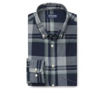 Woolrich - Casual Hemd Button-Down-Kragen dunkelblau kariert