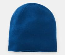HerrenCashmere Mütze blau